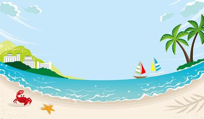 懐かしい夏の海
