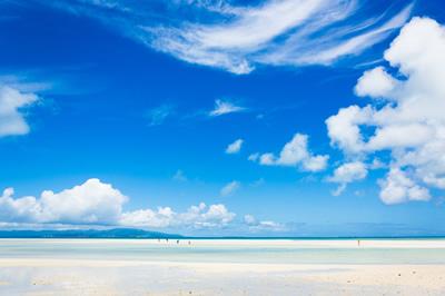 海は夏が一番